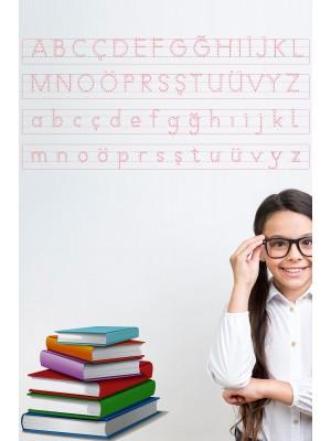 İlkokul 1.sınıf için yazı tahtası eğitim seti akıllı kağıt tahta 4lü
